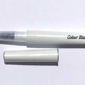 Colour Blast Shimmer Brush Marker Silver