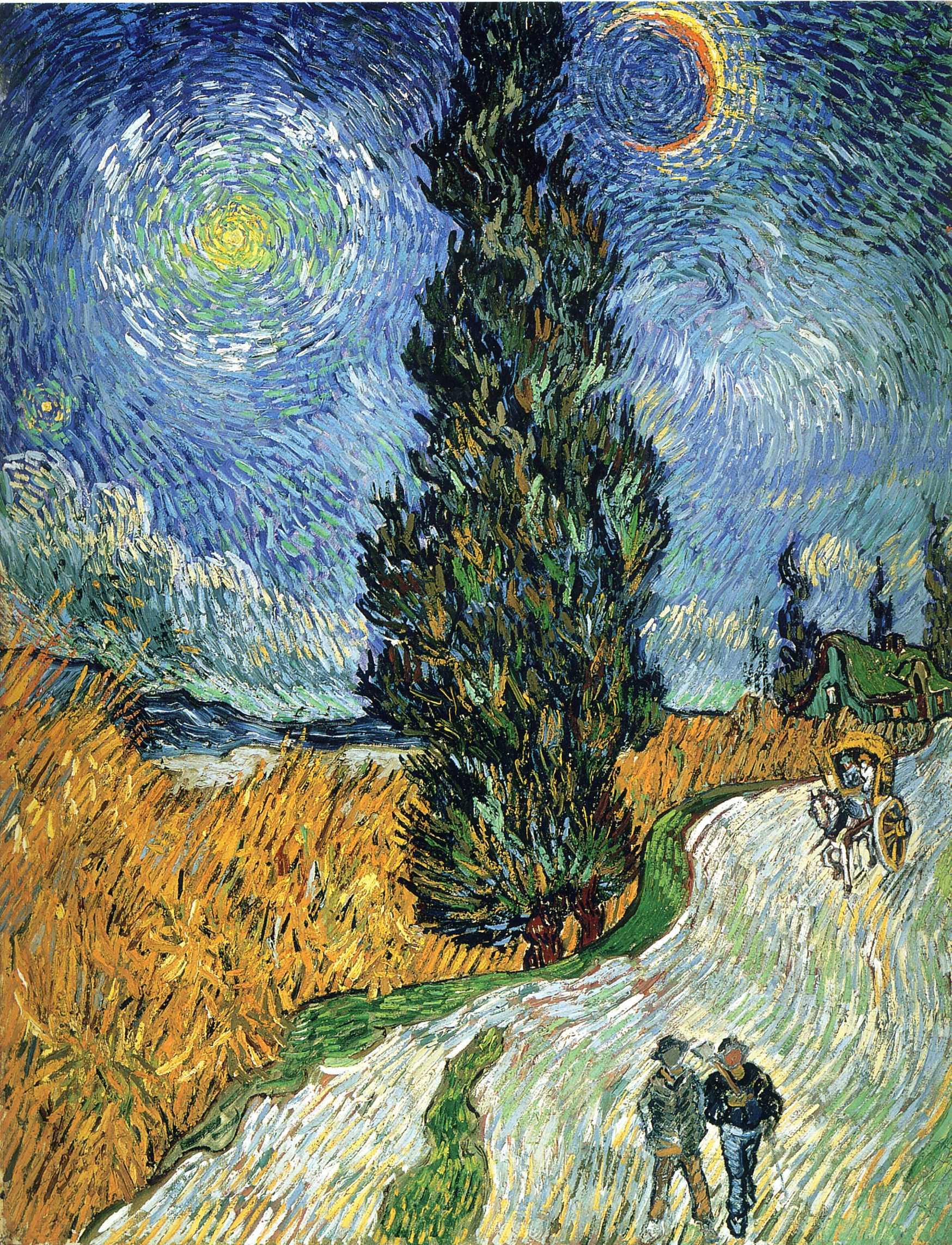 Favourite Paintings 9 Vincent Van Gogh Starry Night Over