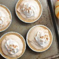 Mini No Bake Pumpkin Pie Cheesecake
