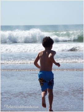 Bravery in youth, heading on the move to the cold cold waters