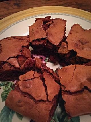 Wheat & Gluten Free Chocolate Fudge Brownies Low FODMAP