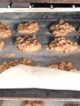Banana & Oat Night Time Cookies