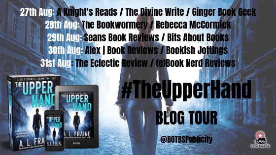 The Upper Hand Blog Tour