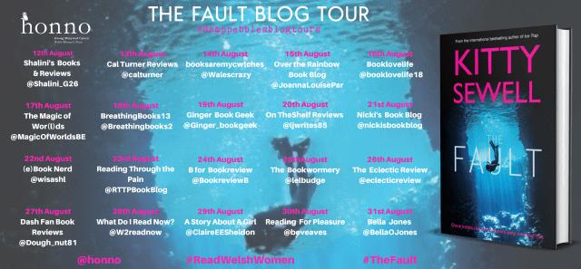 The Fault Blog Tour banner