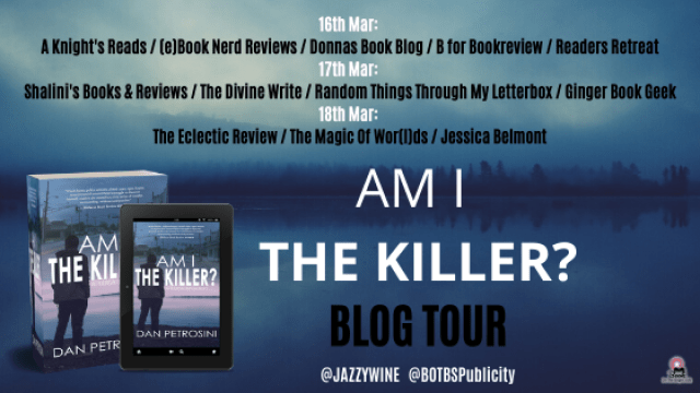Am I the Killer Blog Tour