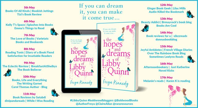 The Hopes and Dreams of Libby Quinn Full Tour Banner