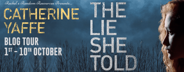 The Lie She Told Banner