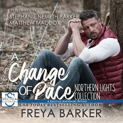 a change of pace audiobook cover