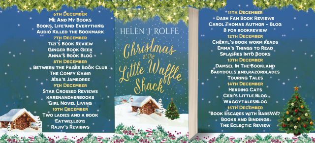 Christmas at the Little Waffle Shack Full Tour Banner
