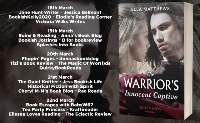 The Warriors Innocent Captive Full Tour Banner