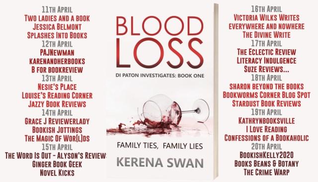 Blood Loss Full Tour Banner