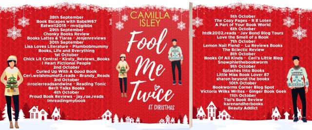 Fool Me Twice at Christmas Full Tour Banner
