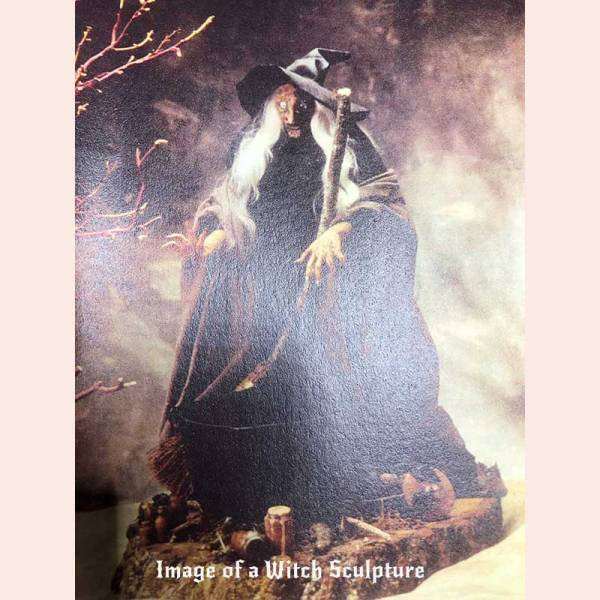 Witch painting by Whispers from the Past