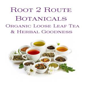 Loose leaf tea by Route2Route Botanicals