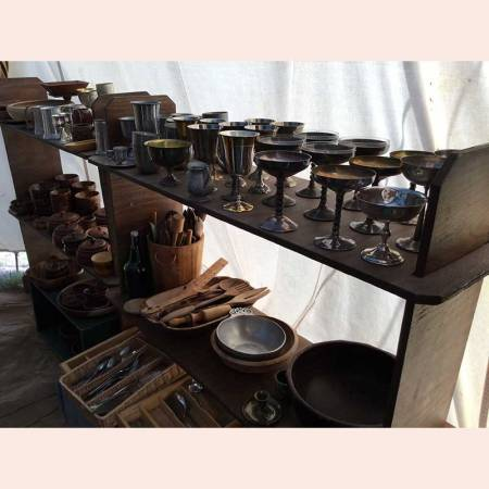 Feastware, cups, plates, silverware, utensils by Thyme Traveller