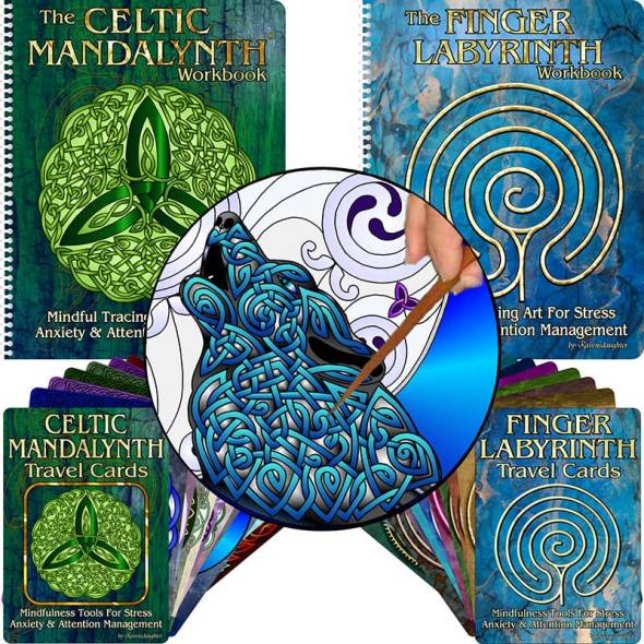 Labyrinths and mindful art by Celtic Art Store