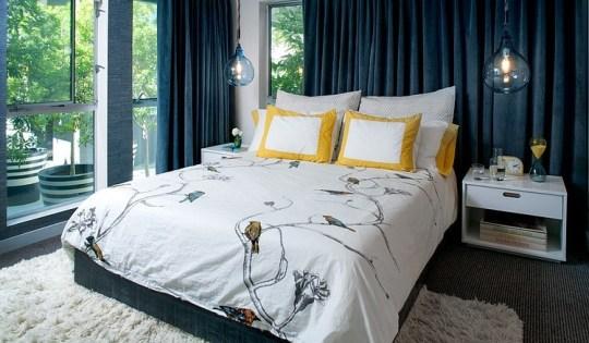 daleet spector design bedroom | Eclectic Trends