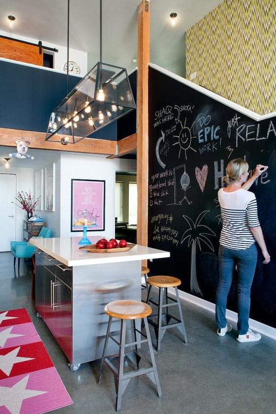daleet spector design kitchen | Eclectic Trends