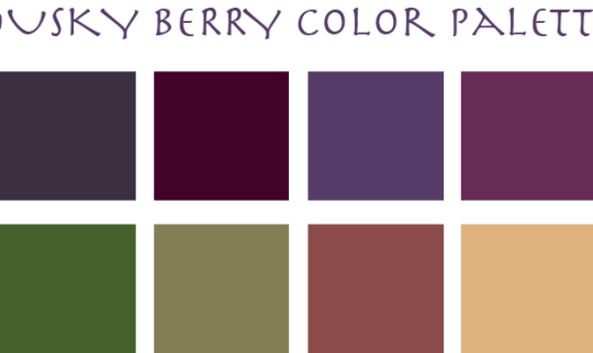 Eclectic Trends: DUSKY BERRY COLOR PALETTE 2015/16