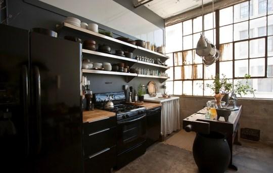 loft Brooklyn kitchen