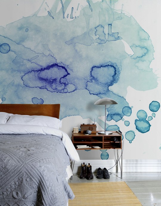 Watercolour trend | Eclectic Trends