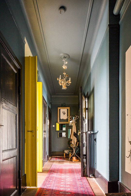 apartment Malmo moody hallway