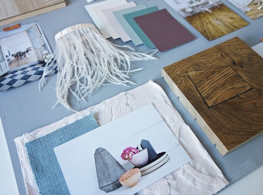 Commissioned moodboards-Modern Rustic Style -Eclectic Trends