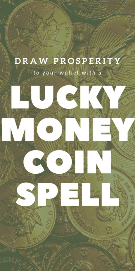 Draw prosperity to your wallet with a lucky money spell. #witchcraft #witch #magic #pagan #magick #wicca #money #debt #wallet #moneyspell