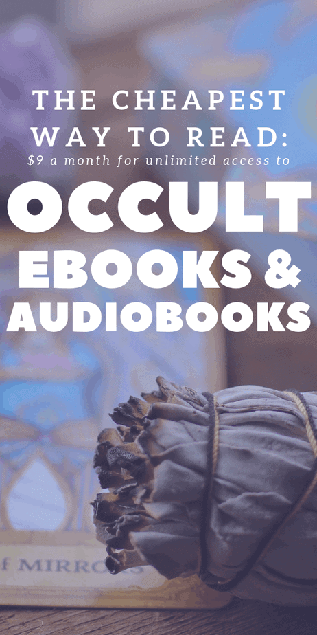 The cheapest way to read for nine dollars a month and you get unlimited access to occult ebooks and audiobooks. Do you want unlimited access to audiobooks and ebooks about witchcraft, paganism, wicca, spells, shamanism, crystals, herbalism, the occult, and the new age? A Scribd subscription gives you access to all of this and more! This post lists the best books to read for witches and pagans. #witchcraft #witch #pagan #occult #newage #spells
