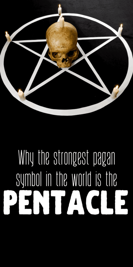 Why the strongest pagan symbol in the world is the pentacle. Learn all about the occult symbolism of the pentagram. This occult jewelry will protect you from evil energy, ghosts, curses, and hexes. Never perform magic without a pentacle on you. Protect yourself with this witch symbol. There's a reason pagans, witches, and Wiccans use this symbol so prominantly on their occult fashion, accessories, or in their spells. #witchcraft #magick #witch #pagan #wicca #pentacle