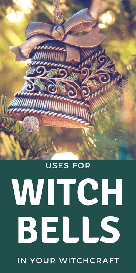 Bells are a beautiful witch tool. Find tips on how to use them and where to find them. Bells are a must have for Wiccans and eclectic witches! Are bells on your witch tools list? This is an essential product for witchcraft and paganism. What is the meaning and purpose of witch bells? Do you need this witch tool? Add this info about witch bells to your book of shadows #witchcraft #witch #pagan #wicca #paganism #wiccan #druid #protection #bells #spells #magick #magic #bookofshadows #tips #tools