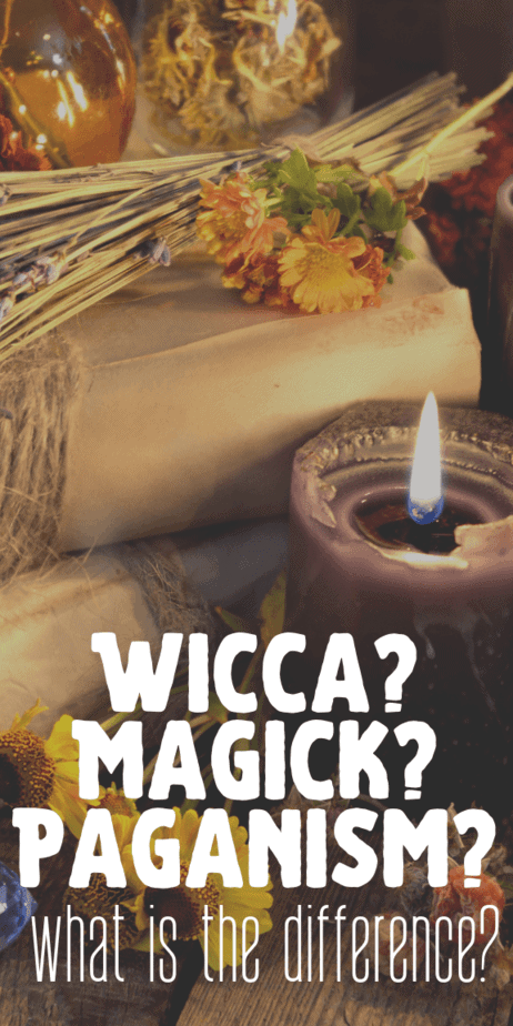 What is the difference between witchcraft (magick), Wicca, and paganism? Find out in this informative blog post. Learn about the beliefs and lore of these practices and religions. #witchcraft #witch #pagan #wicca #paganism #wiccan #magick #occult #magic