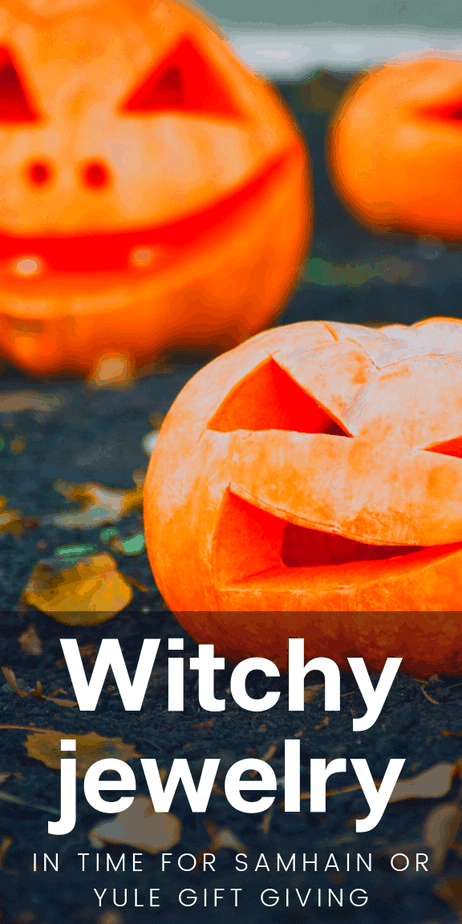 Witchy jewelry just in time for samhain gift giving or yule presents! Halloween and Christmas are just around the corner, and your pagan friends would love to receive jewelry like this as a way to celebrate. Show the witch in your life that you love them with classic Wicca jewelry with crystals and occult symbolism. From green witches to space witches and eclectic witches, you will find the witchcraft jewelry you need on Eclectic Witchcraft. #witch #witchcraft #jewelry #pagan #wicca #samhain