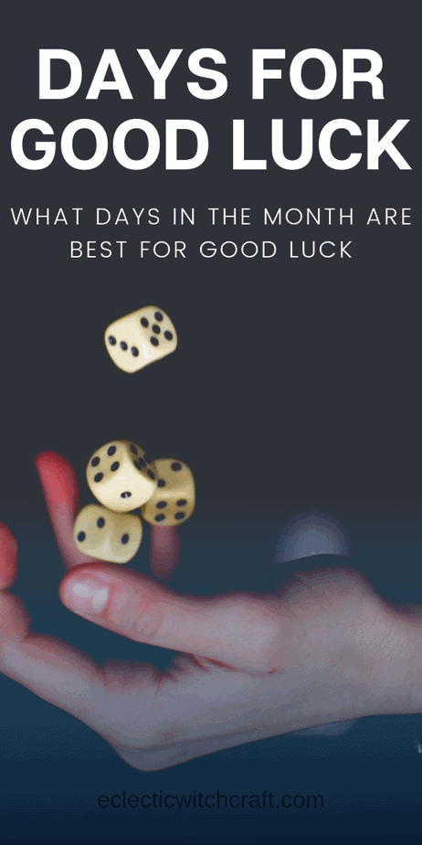 Lucky and unlucky days of the week: Find out when you should schedule interviews for new jobs or just stay at home and watch Netflix. // Good luck wishes. Funny good luck charms. Good luck prayer. Good luck meme. Good luck new job. Good luck spell. Good luck on your test. Good luck interview. Good luck signs. Good luck babe. #goodluck #witchcraft #pagan #wicca #witch