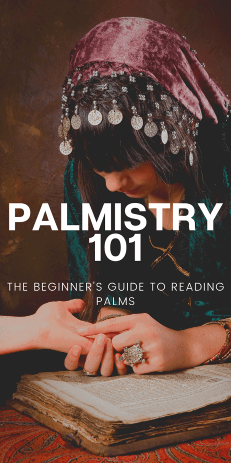 Palmistry love and life readings. Learn the basics of palm reading and chiromancy. Add this information to your witch grimoire or book of shadows! An easy palmistry printable blog psot. Palmistry witchcraft. Palmistry cheat sheet. Palmistry health. Handreading palmistry healer. #palmistry #psychic #fortunetelling #fortuneteller #vintage #antique #1800s #chiromancy #witch #witchcraft #pagan #wicca #occult