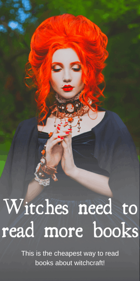 Read amazing witchcraft books and study up on druidry, green witchcraft, eclectic witchcraft, Wicca, rodnovery, heathenry, Hellenism, the occult, demons, and so much more! This amazing website gives you access to so many books for only $9 a month. Amazing! Unlimited audiobooks, too! You need to check this out. This is definitely the cheapest way to read more books. #witchcraft #books #reading #scribd #witch #pagan #paganism #wicca #wiccan #occult #druid #heathen #demons