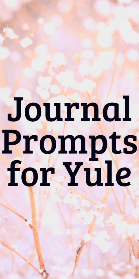 Journaling writing prompts for Christmas. What do you write about to celebrate winter? Bullet journal ideas. Journaling tips. Self care techniques. #yule #christmas #bulletjournal #journaling #writing #writingprompts #pagan #wicca #occult #witch #witchcraft #winter #journal #selfcare #bujo