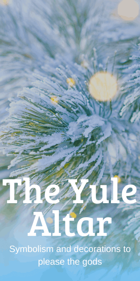 Yule Altar Symbolism And Decorations. Yule witchcraft. Yule goddess. Merry Yule symbols. Yule prayer. Yule 2019. Yule 2020. Yule 2021. Yule Australia. Yule viking. Yule sabbat. Yule book of shadows. Yule greetings. Yule feast. Yule DIY. Yule images. Yule southern hemisphere. Yule cards. Yule pictures. Yule magick. Yule ideas. Yule crystals. Yule herbs. Yule vs Christmas. Yule tide. Yule candle. Yule Odin. #yule #pagan #christmas #wicca #witch #witchcraft #paganism #occult #goddess #altar