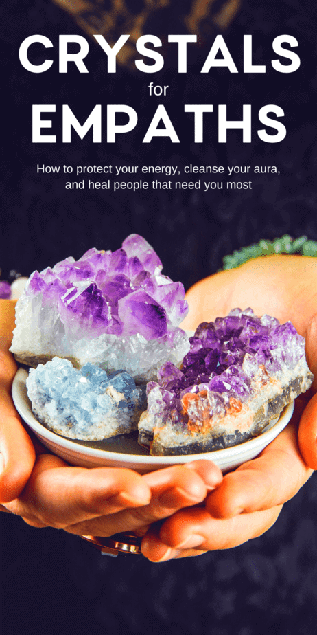 Self care crystals that will heal empaths. But empaths know the truth: Not only does the world not appreciate you, it frequently beats you down. People thrust emotions onto you and expect you to heal them of deep trauma within minutes. #crystals #healing #selfcare #empath #psychic #witch #witchcraft #pagan #wicca
