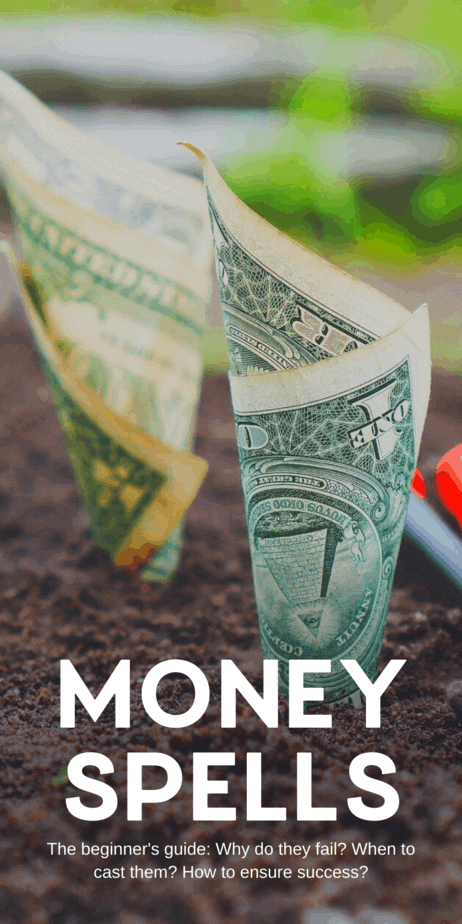 Did your wealth manifestation spell fail? Money spells require more than just magic, they require action and a path through which the money can flow to you. You must do your spell, and then work your butt off to make it work. Sometimes that means working harder than usual at your job, putting out a ton of applications for a new job, or putting in the long hard hours needed to manifest a positive effect on your freelancing job or your own business. #money #lawofattraction #witch #witchcraft