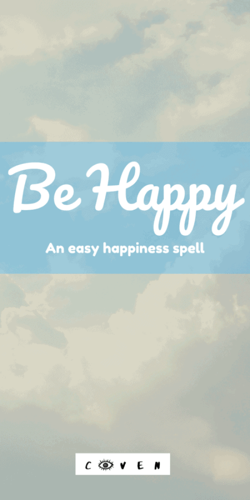 Be happy! This is an easy hapiness spell that uses a feather, essential oils, and quartz crystals. Lift your own spirits with this super simple beginner witch spell that WORKS! This also uses the Strength card from a tarot deck. Happiness can be hard to find in our modern world. Just turn on the news and I'm sure at least some of your happiness will be sucked right out of you. This self care spell will help you with your mental health. #selfcare #mentalhealth #witch #witchcraft #magic #wicca