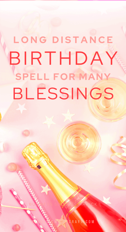 This birthday spell will help you close the gap between you and another when you must be far away. Whether you choose to use this birthday spell while we are doing social distancing, or just when you live far away from someone, it will help you both to feel close to one another. | witch birthday wishes | birthday ceremony | birthday intentions | witchy birthday party | witch birthday blessing | birthday manifestation | #pagan #wicca #witch #witchcraft