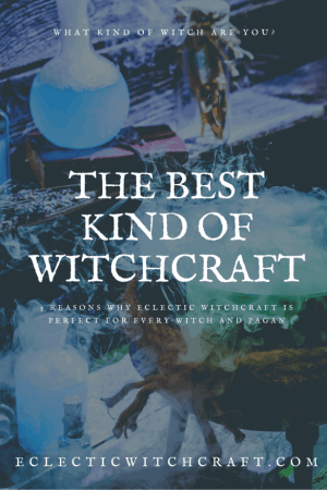 Is eclectic witchcraft right for you? Learn how becoming an eclectic witch can change your life. What kind of witch am I? Maybe you should become an eclectic witch! Do you have an eclectic witch book of shadows? Eclectic witchcraft for beginners. Intuitive witchcraft and intuitive paganism go hand in hand with eclectic witchcraft. How to practice eclectic witchcraft. What is eclectic witchcraft? All about eclectic pagan witchcraft. Solitary eclectic witchcraft. #witch #witchcraft #pagan #wicca