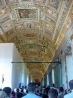 impressionnant, les plafonds !
