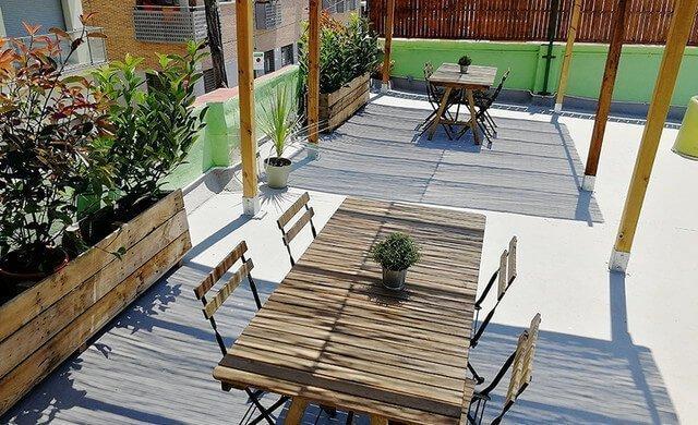 terraza coworking poblenou