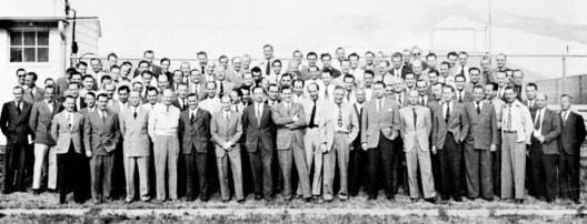 The entire Nazi rocketry team