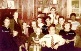 The Scherf home photograph (alleged by Skorzeny to have been taken c.1938) 2