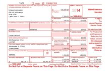 Sample 1099 Government Form