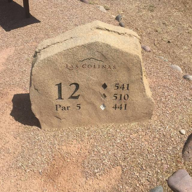 tee box marker at las colinas