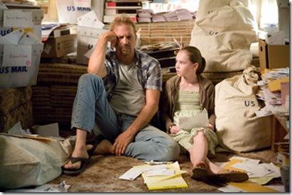 Kevin Costner & Madeline Carroll